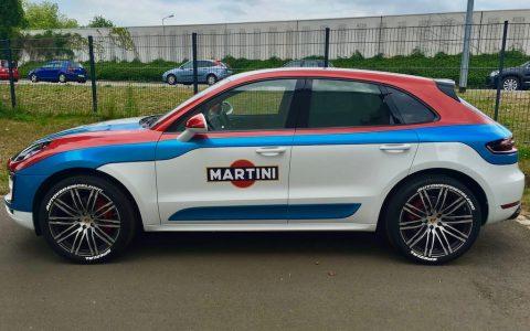 Streifen Martini Macan
