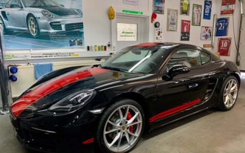 Folie Porsche CaymanS