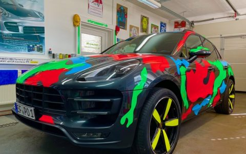 Folie Porsche Macan Turbo Performance